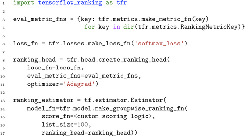 TF-Ranking: Scalable TensorFlow Library for Learning-to-Rank