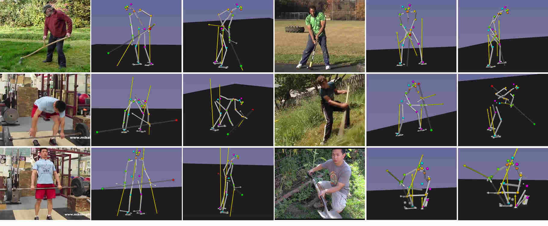 Estimating 3D Motion and Forces of Person-Object