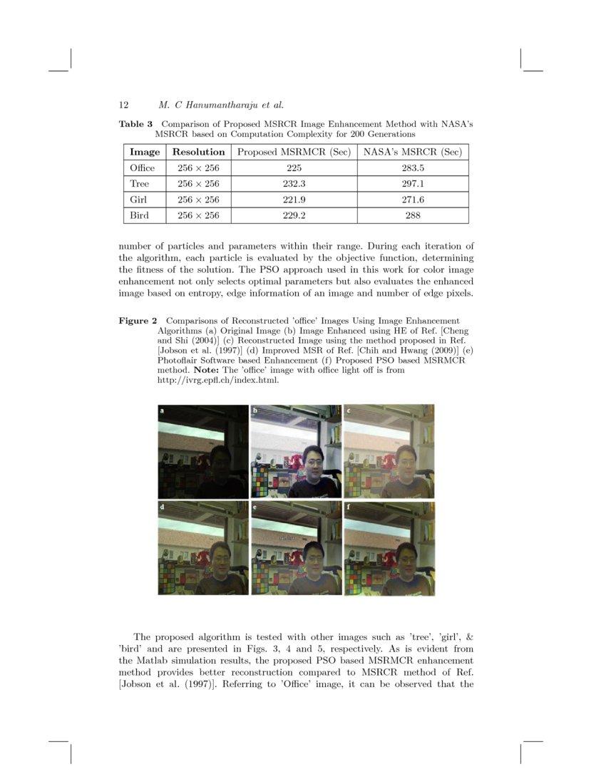 A New Framework for Retinex based Color Image Enhancement using