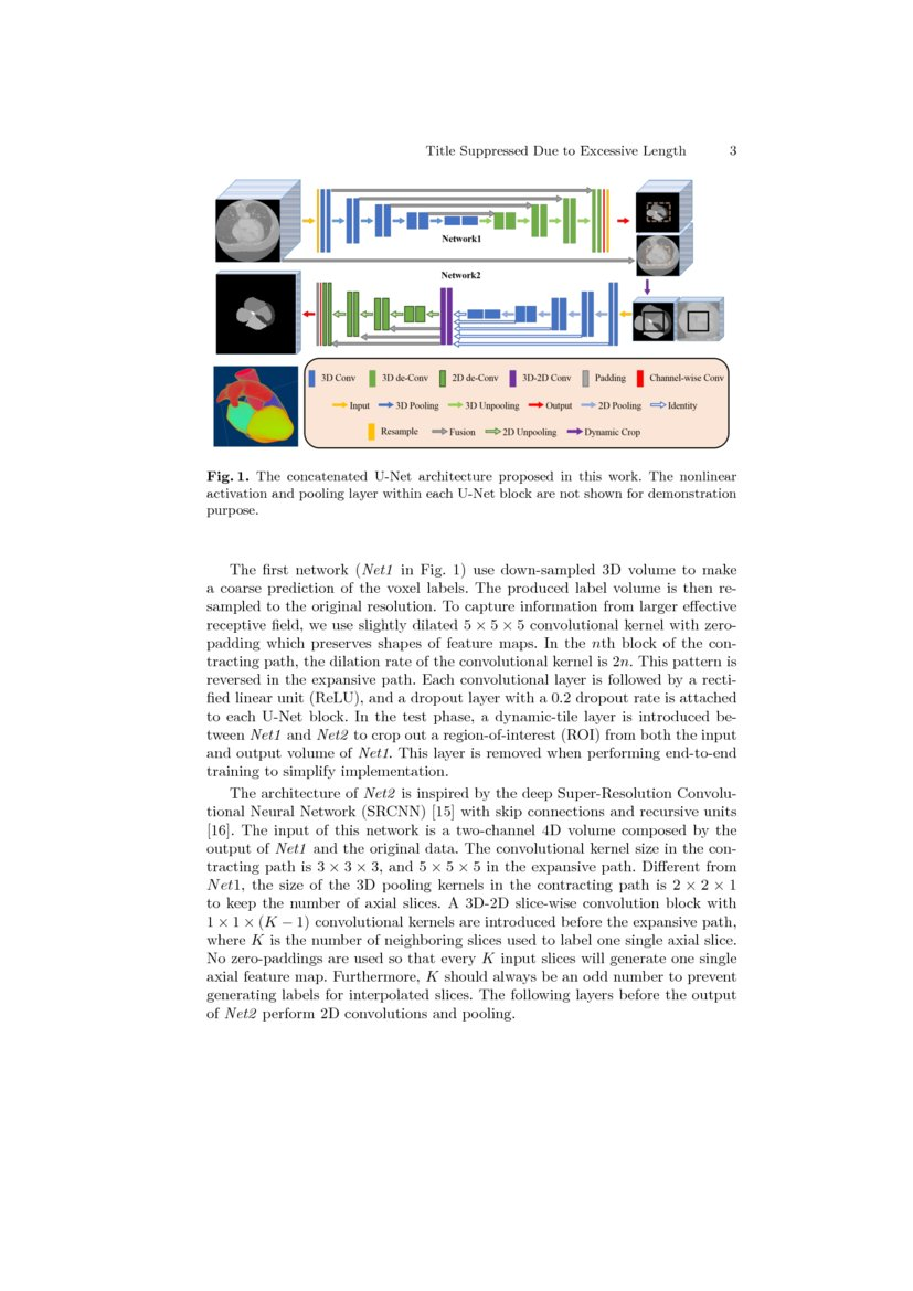 A two-stage 3D Unet framework for multi-class segmentation