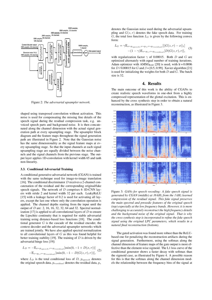 Analysis by Adversarial Synthesis -- A Novel Approach for