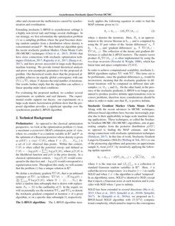 Asynchronous Stochastic Quasi-Newton MCMC for Non-Convex