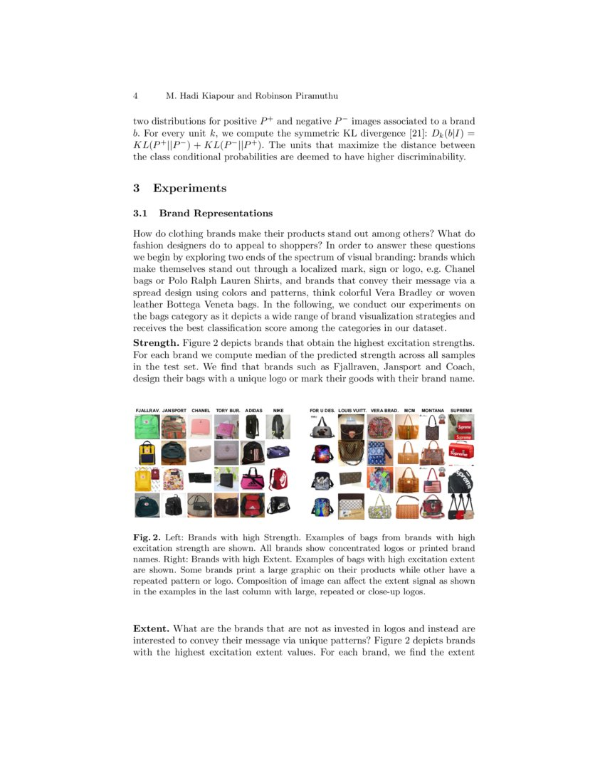 Brand Logo Visual Analysis Of Fashion Brands Deepai