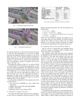 Car Detection using Unmanned Aerial Vehicles: Comparison