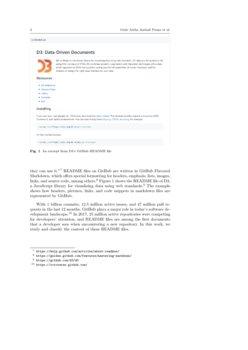 Categorizing the Content of GitHub README Files   DeepAI
