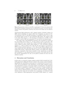 Cross-modality image synthesis from unpaired data using