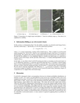 CycleGAN: a Master of Steganography | DeepAI