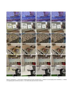 Efficient Texture Mapping Via A Non Iterative Global Texture Alignment Deepai