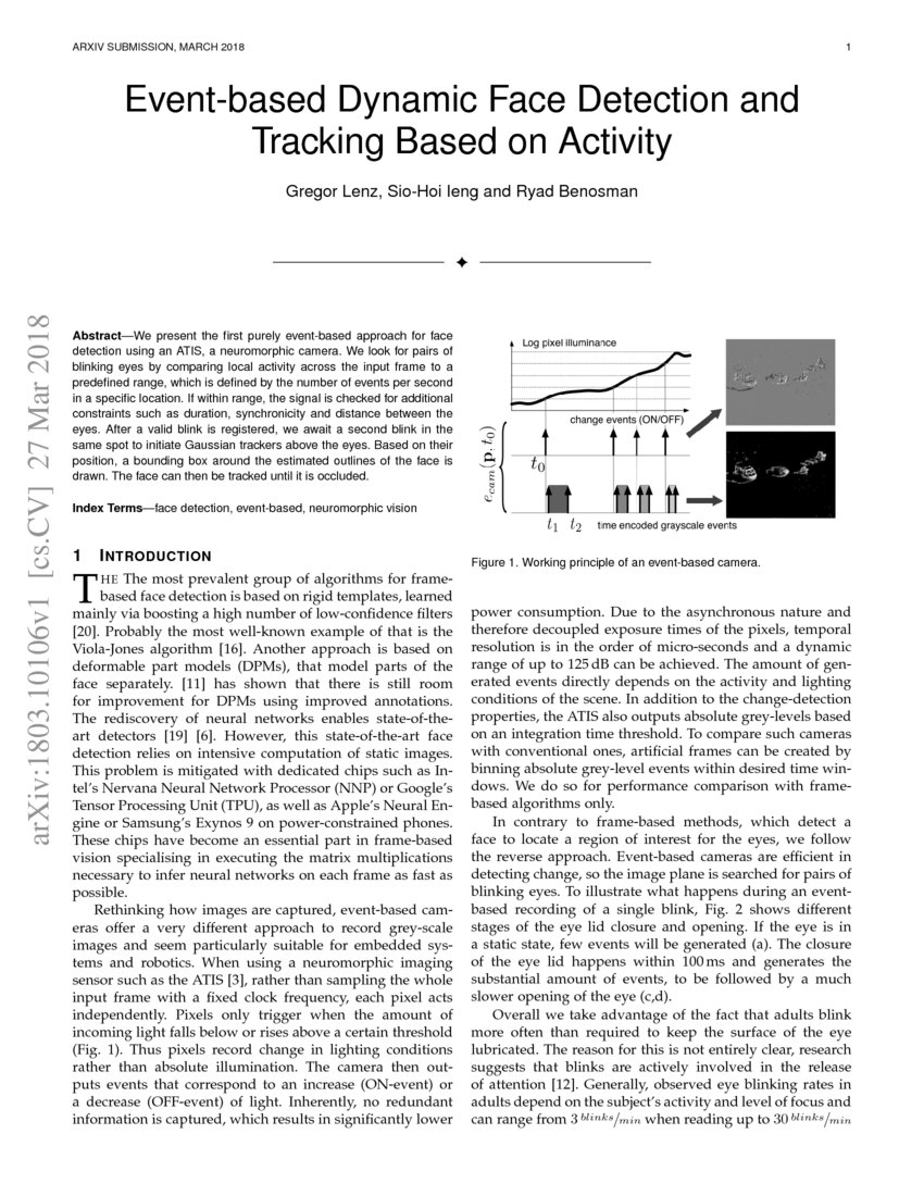 Face Recognition Papers 2018