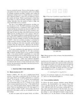 Fast Block Structure Determination in AV1-based Multiple