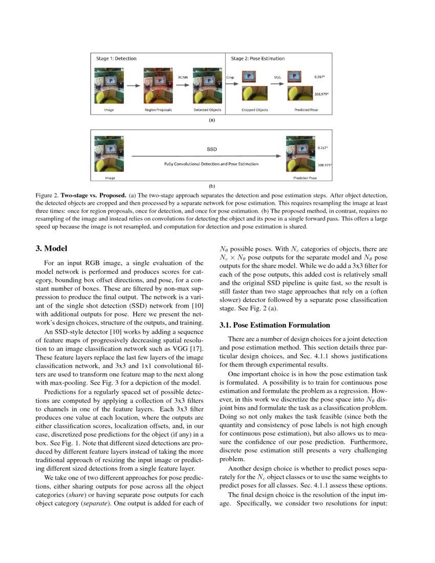 Fast Single Shot Detection and Pose Estimation | DeepAI