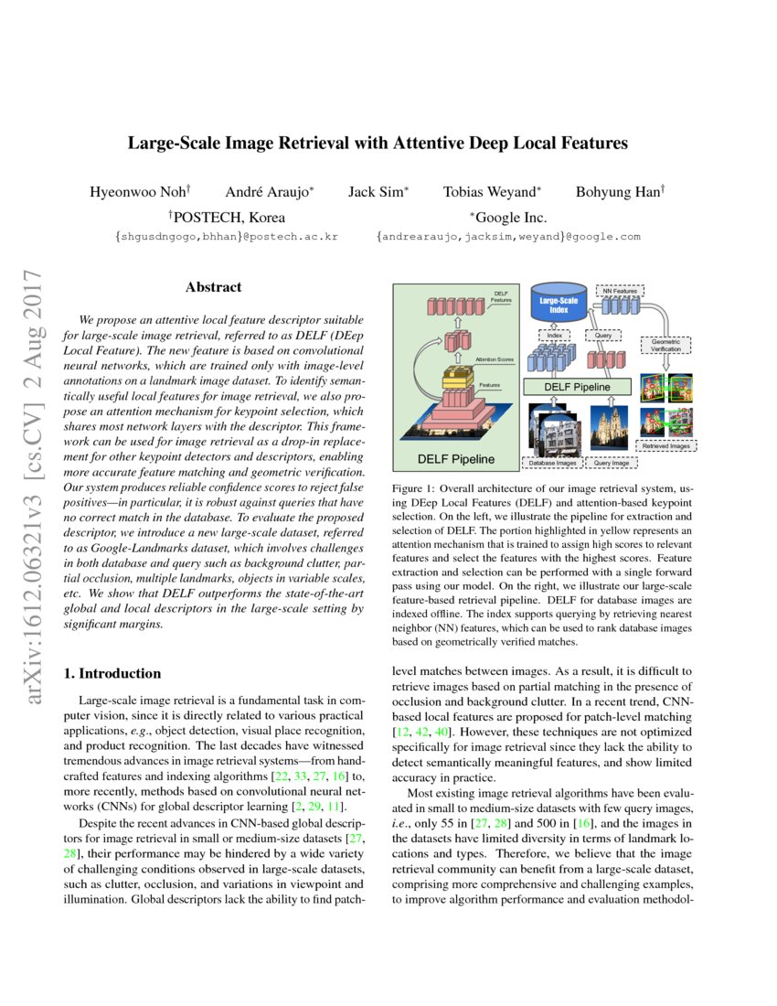 Large-Scale Image Retrieval with Attentive Deep Local