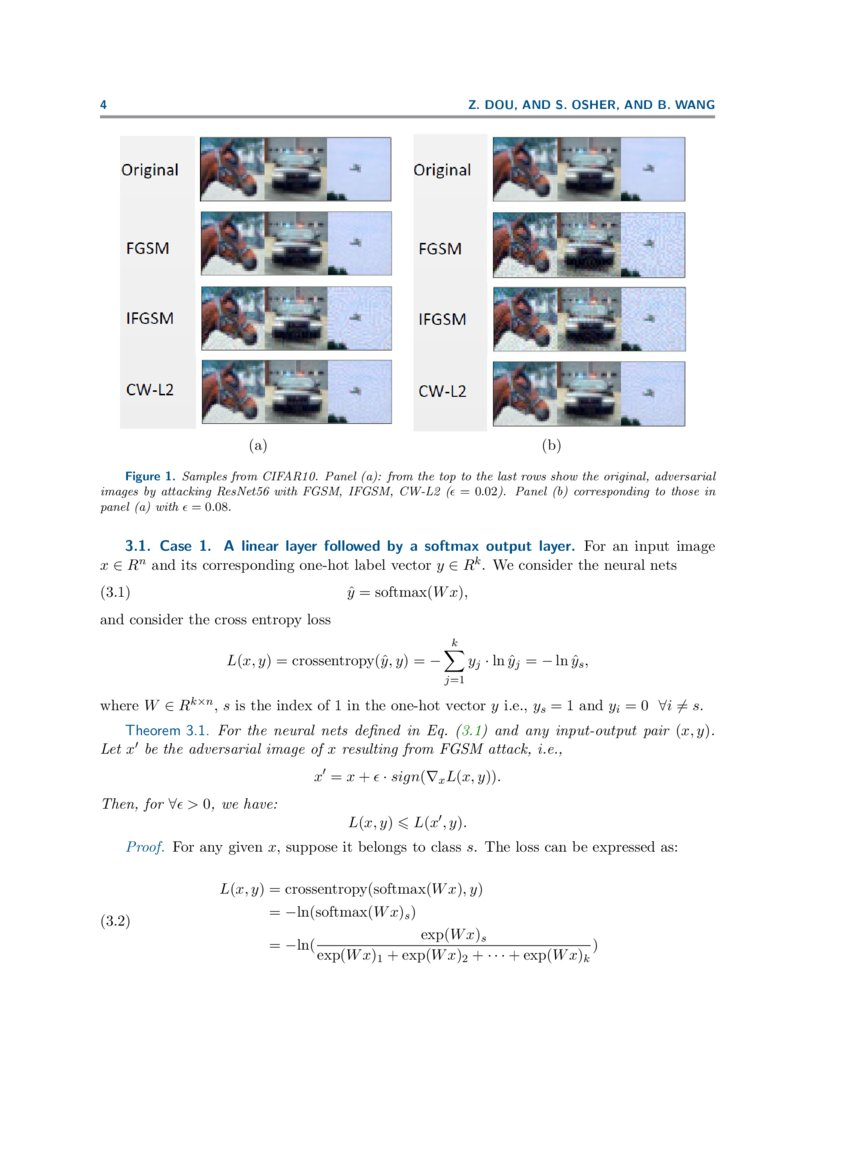 Mathematical Analysis of Adversarial Attacks   DeepAI