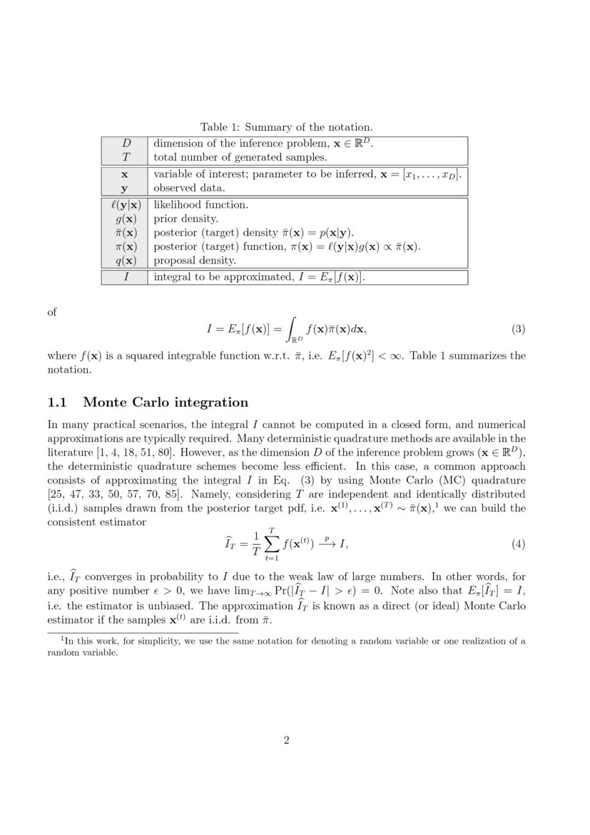 Metropolis Sampling - Research Article   DeepAI