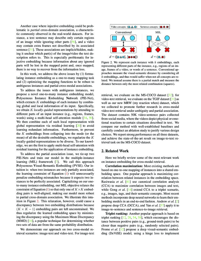 Polysemous Visual-Semantic Embedding for Cross-Modal