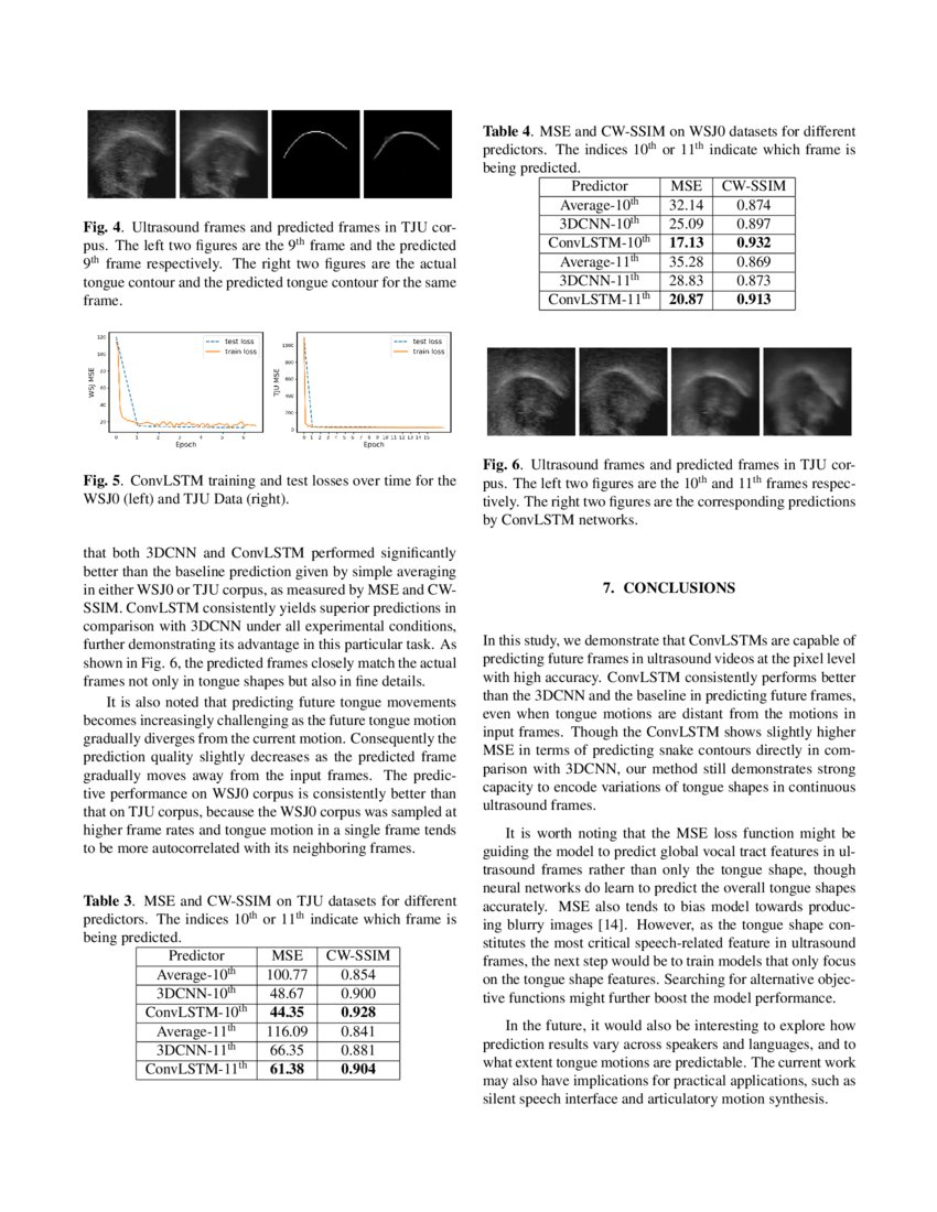 Predicting tongue motion in unlabeled ultrasound videos using