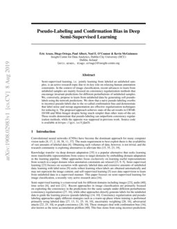 Pseudo-Labeling and Confirmation Bias in Deep Semi