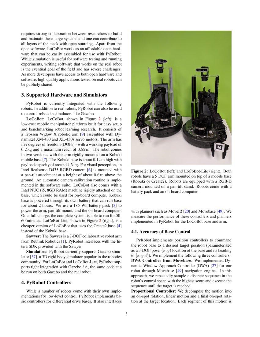PyRobot: An Open-source Robotics Framework for Research and