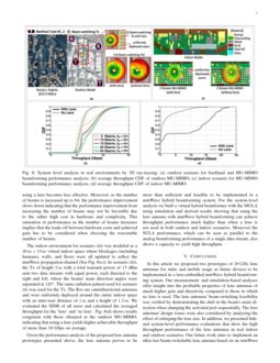 RF Lens-Embedded Antenna Array for mmWave MIMO: Design and