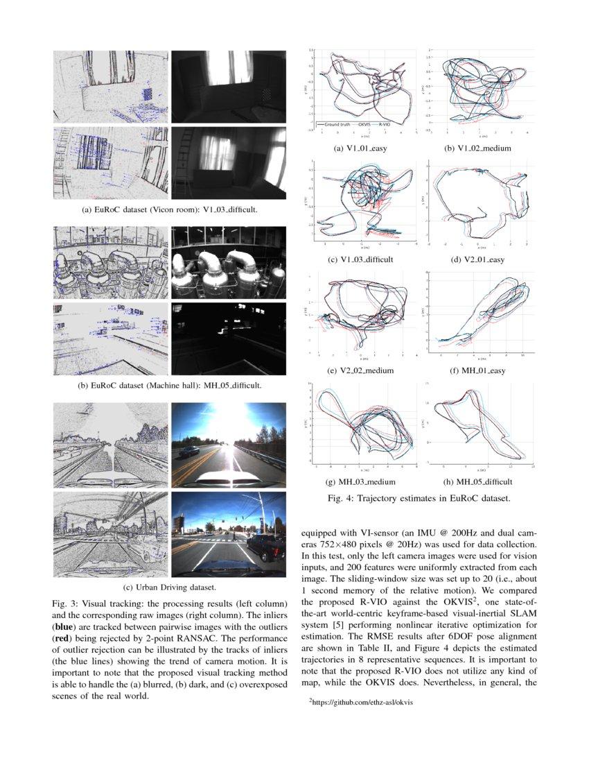 Robocentric Visual-Inertial Odometry   DeepAI