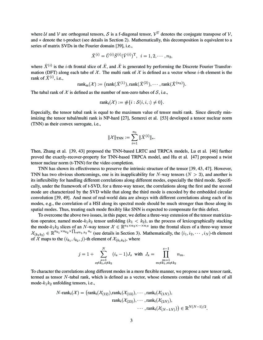 Tensor N-tubal rank and its convex relaxation for low-rank