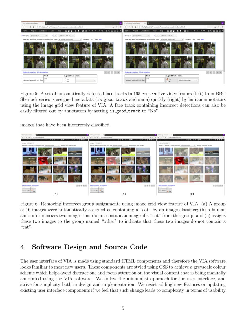 The VGG Image Annotator (VIA) - Research Article | DeepAI