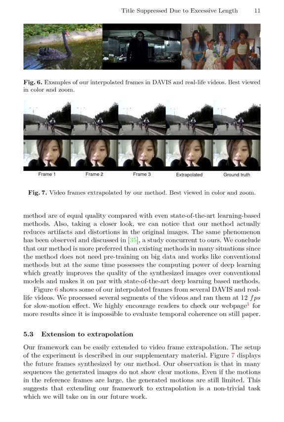 Video Frame Interpolation by Plug-and-Play Deep Locally Linear ...